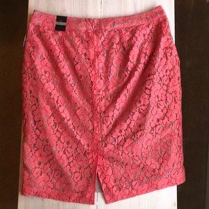 Apt. 9 Skirts - Coral Pencil Skirt